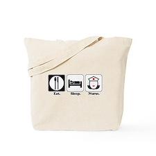 Eat. Sleep. Nurse. Tote Bag