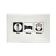 Eat. Sleep. Nurse. Rectangle Magnet