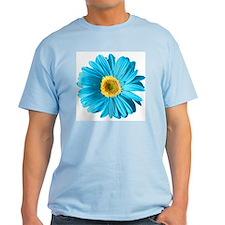 Pop Art Blue Daisy T-Shirt
