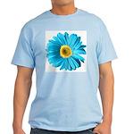 Pop Art Blue Daisy Light T-Shirt