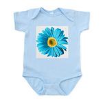 Pop Art Blue Daisy Infant Bodysuit
