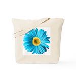 Pop Art Blue Daisy Tote Bag