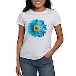 Pop Art Blue Daisy Women's T-Shirt