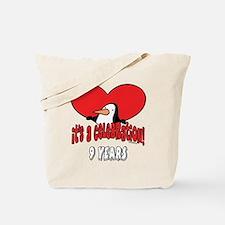 9th Celebration Tote Bag