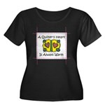 A Quilter's Heart - Warm Women's Plus Size Scoop N