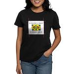 A Quilter's Heart - Warm Women's Dark T-Shirt