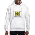 A Quilter's Heart - Warm Hooded Sweatshirt