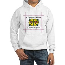 A Quilter's Heart - Warm Hoodie