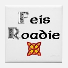 Feis Roadie - Tile Coaster