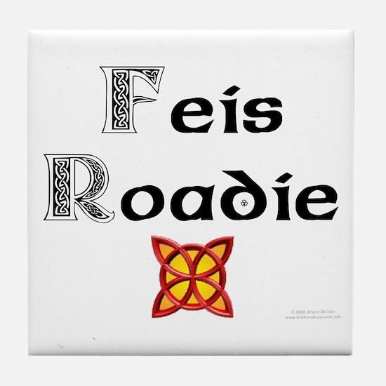 Feis Roadie - Tile Coaster