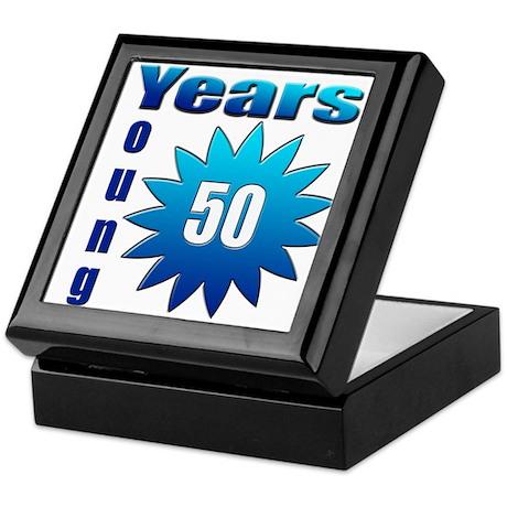 50 years young Keepsake Box