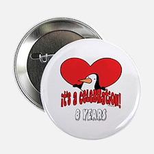 "8th Celebration 2.25"" Button"