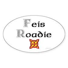 Feis Roadie - Oval Decal