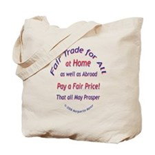 Fair Trade for All Tote Bag