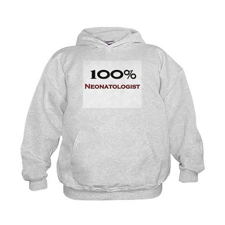 100 Percent Neonatologist Kids Hoodie
