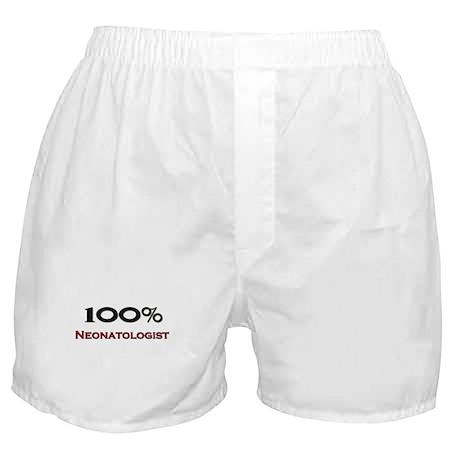 100 Percent Neonatologist Boxer Shorts