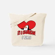 5th Celebration Tote Bag