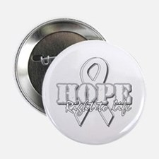 """Hope - Right to Life 2.25"""" Button"""