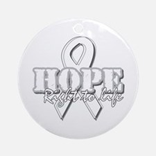 Hope - Right to Life Ornament (Round)