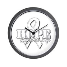 Hope - Right to Life Wall Clock