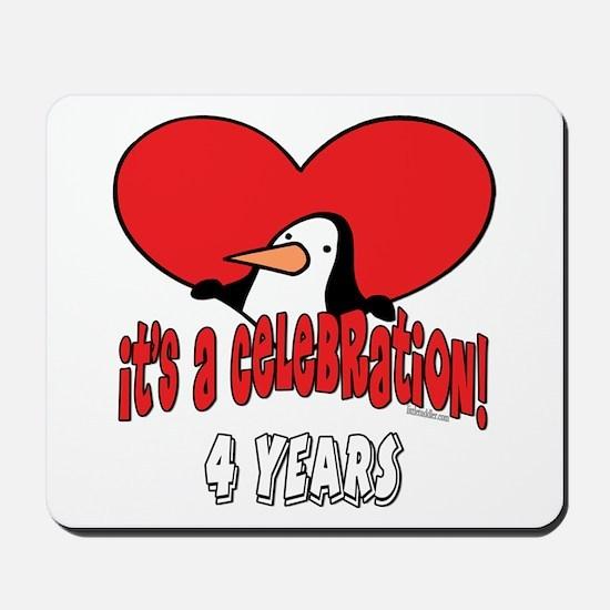 4th Celebration Mousepad