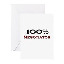 100 Percent Negotiator Greeting Cards (Pk of 10)