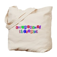 Occupational Therapist Colors Tote Bag