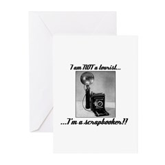 Scrapbooker - Not a Tourist Greeting Cards (Pk of