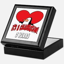 3rd Celebration Keepsake Box