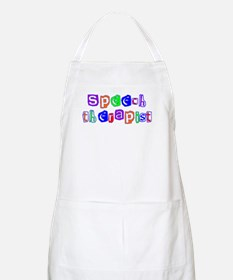 Speech Therapist Colors BBQ Apron