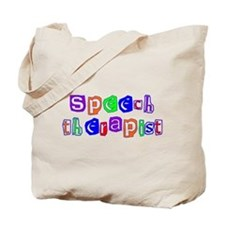 Speech Therapist Colors Tote Bag