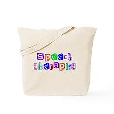 Speech Therapist Colors Tote Bag
