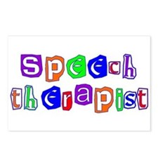 Speech Therapist Colors Postcards (Package of 8)