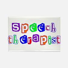 Speech Therapist Colors Rectangle Magnet