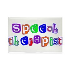 Speech Therapist Colors Rectangle Magnet (10 pack)