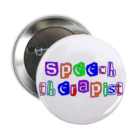 "Speech Therapist Colors 2.25"" Button (100 pack)"