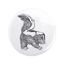 """cute baby skunk 3.5"""" Button"""