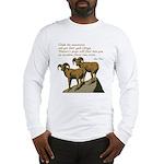 John Muir Quote Long Sleeve T-Shirt