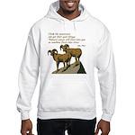 John Muir Quote Hooded Sweatshirt
