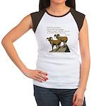 John Muir Quote Women's Cap Sleeve T-Shirt