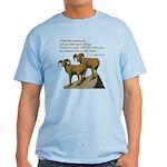 John Muir Quote Light T-Shirt