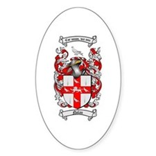 Nolan Family Crest Oval Decal