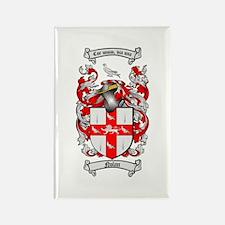 Nolan Family Crest Rectangle Magnet (10 pack)