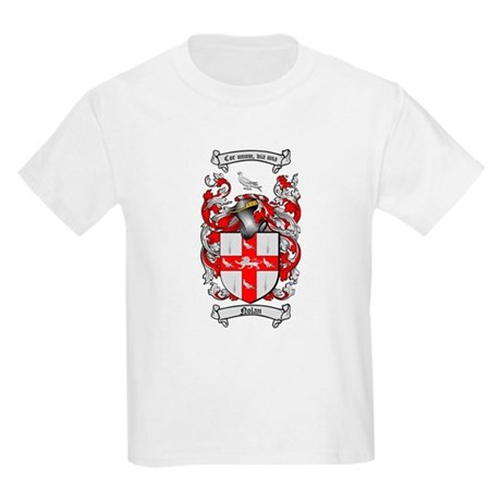 Nolan Family Crest Kids Light T-Shirt