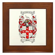 Nolan Family Crest Framed Tile