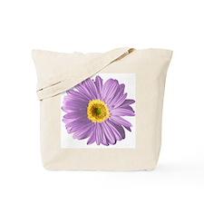 Pop Art Purple Daisy Tote Bag