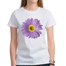 Pop Art Purple Daisy Tee