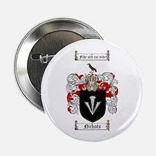 "Nichols Family Crest 2.25"" Button (100 pack)"