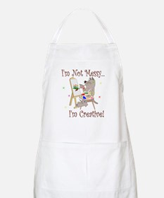 I'm Not Messy... Cat BBQ Apron