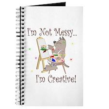 I'm Not Messy... Cat Journal